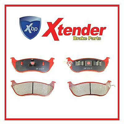 1998-2002 GRAND MARQUIS COMPLETE REAR BRAKE PADS MD674A RED NEW