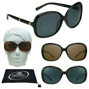 d11c22463 Image is loading Womens-Over-Size-POLARIZED-Fashion-Sunglasses-Jackie-O-