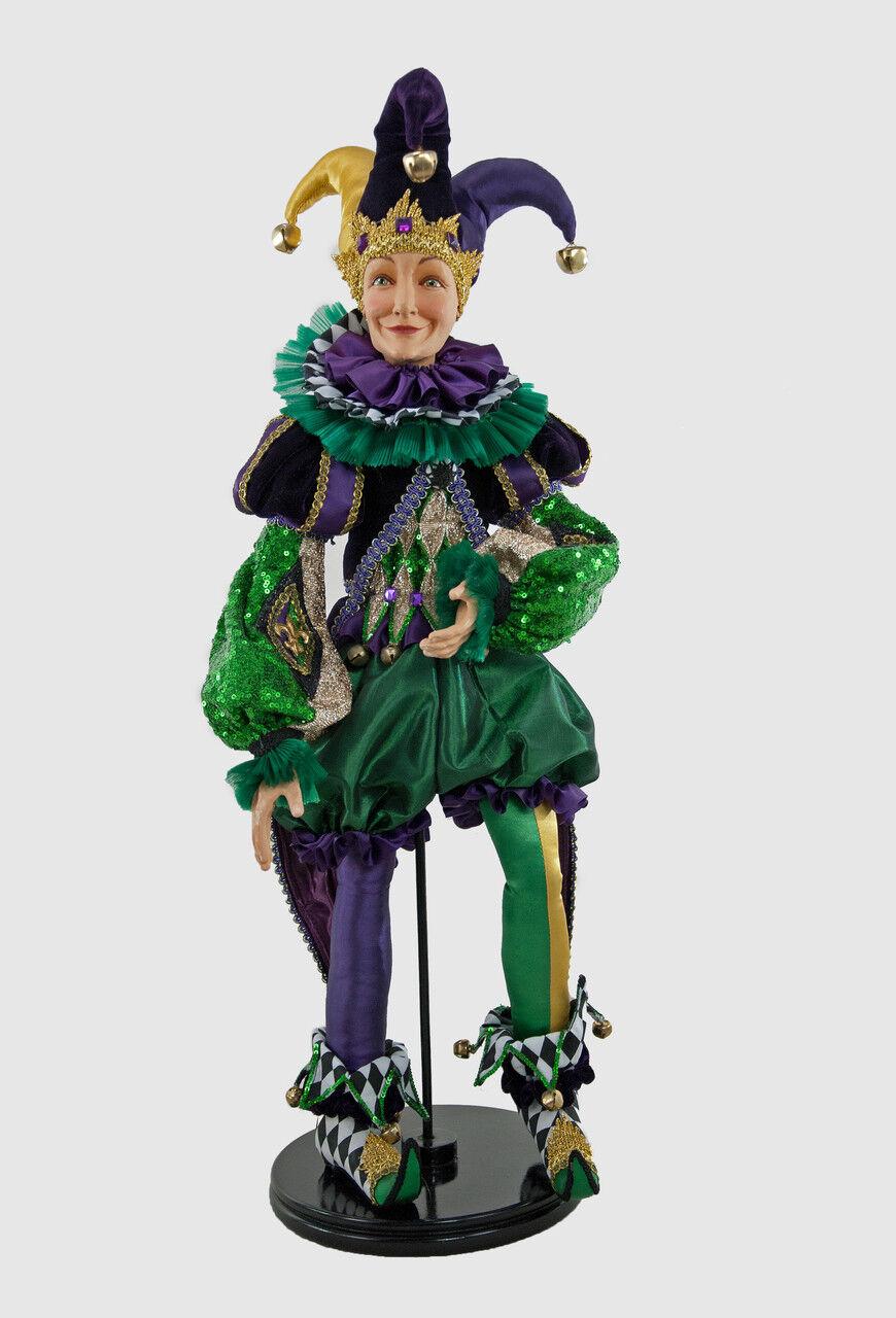 Jester Doll 24''- by Katherine's Sammlung at Silberlake