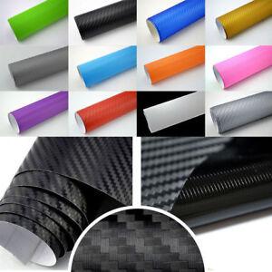 4-89-m-BLASENFREIE-3D-Carbon-AutoFolie-Matt-Glanz-LUFTKANALE-Auto-Folie-Wrap
