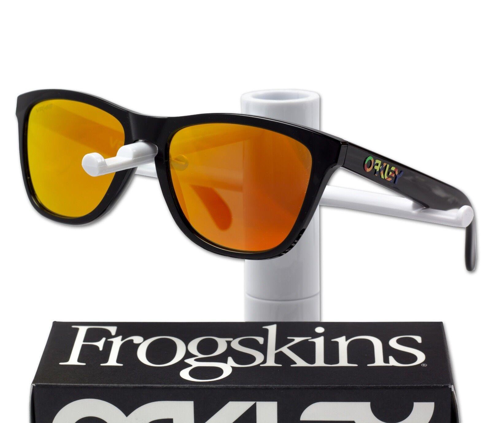 75e67b94f72 OAKLEY Frogskins Valentino Rossi VR46 Signature Prizm Sunglasses New ...