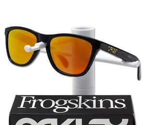 Image is loading OAKLEY-Frogskins-Valentino-Rossi-VR46-Signature-Prizm- Sunglasses- eb4cd34c2504