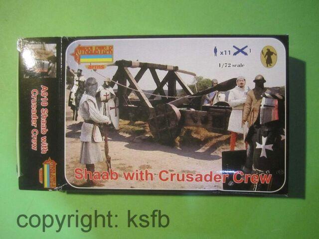 1:72 Strelets A010 Mittelalter Katapult Pfeilschleuder Bedienung Ritter Knights