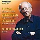 Haydn: Sonata; Beethoven: Bagatelles; Schubert: Sonata (2014)