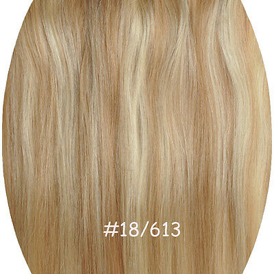 200g 140g 160g Clip In Remy Hair Extension Full Head half wig Straight one Piece