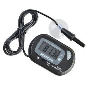 LCD Digital Aquarium Poisson Réservoir D'Eau Thermomètre Nouveau – Royaume-Uni vendeur  </span>