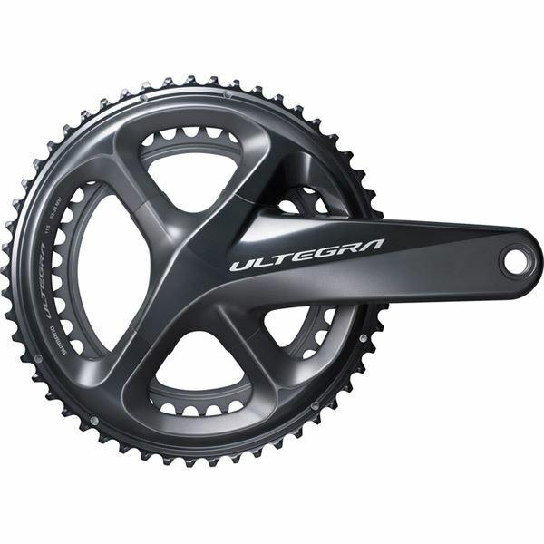 Shiuomoo FCR8000 Ultegra 11 velocità doppia pedaliera in, 5034T 165 165 165 mm ddb