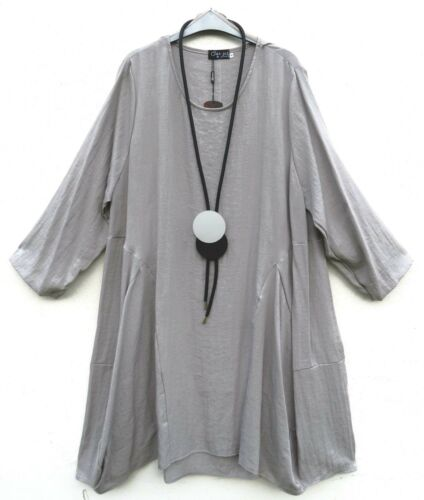 50 More 56 Lagenlook amp; Linen Xxxl Kleid Robe Vestido Dress Classics Leinen qRBxTwaq