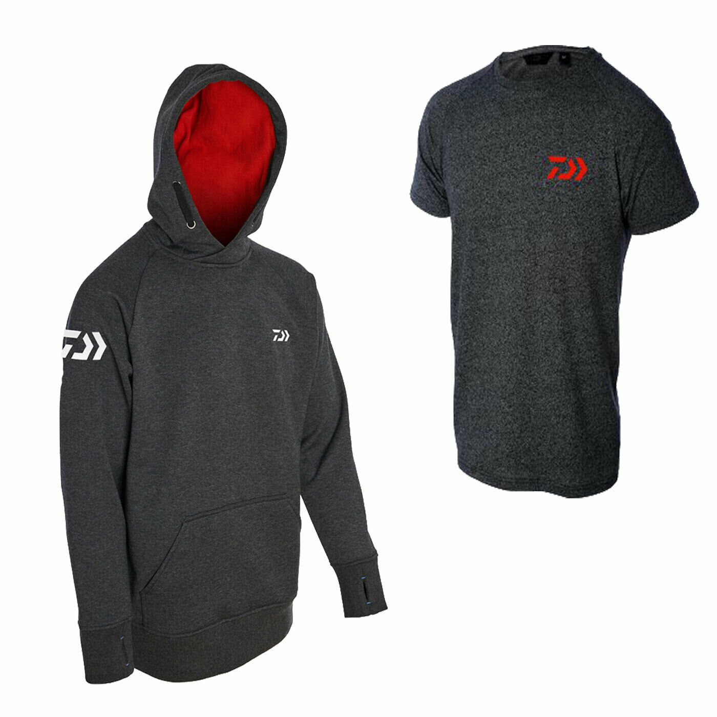 Daiwa Match Hoodie + T-Shirt Combo New 2019 - Free Delivery