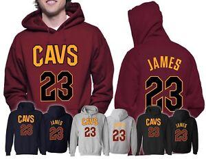 Cleveland Cavaliers Lebron James Jersey Men s Hoodie MVP champs CAVS ... e7e8587b72e7