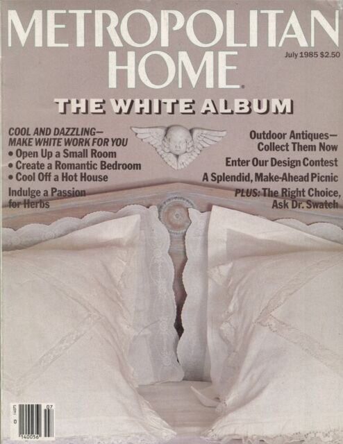 METROPOLITAN HOME MAGAZINE ~~ July 1985 ~~ Interview With ...