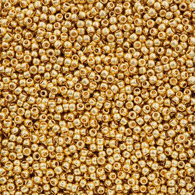 Toho Size 11//0 L27//3 Round Japanese Seed Beads Transparent Lemon 8.2g 2.2mm