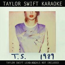 Taylor Swift Karaoke: 1989 [CD/DVD] Karaoke (CD Apr-2015 Big Machine Records)