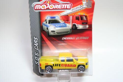 S.O.S Life Guard Cars Neu Chevrolet Silverado Majorette 212057181