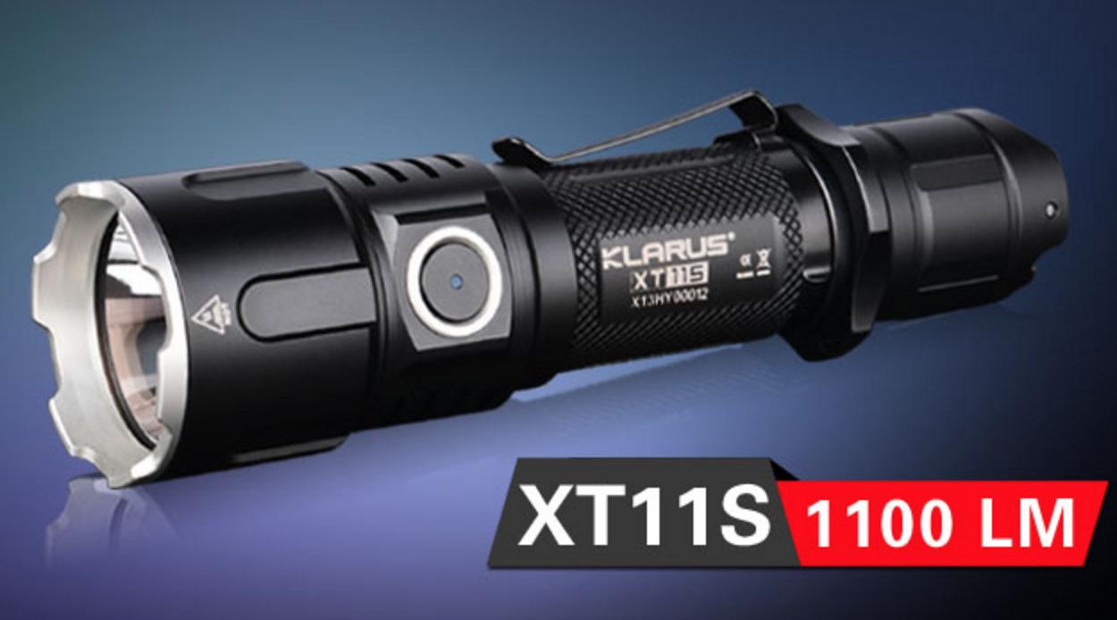 Klarus XT11S XP-L-HI LED aufladbare taktische Taschenlampe