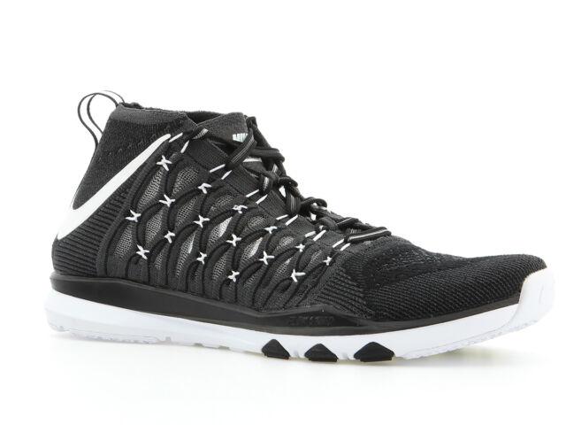 Nike Trainer Tren Flyknit Formación Trainer Nike Zapatillas Negro Hombres Ultrarrápido d0052f