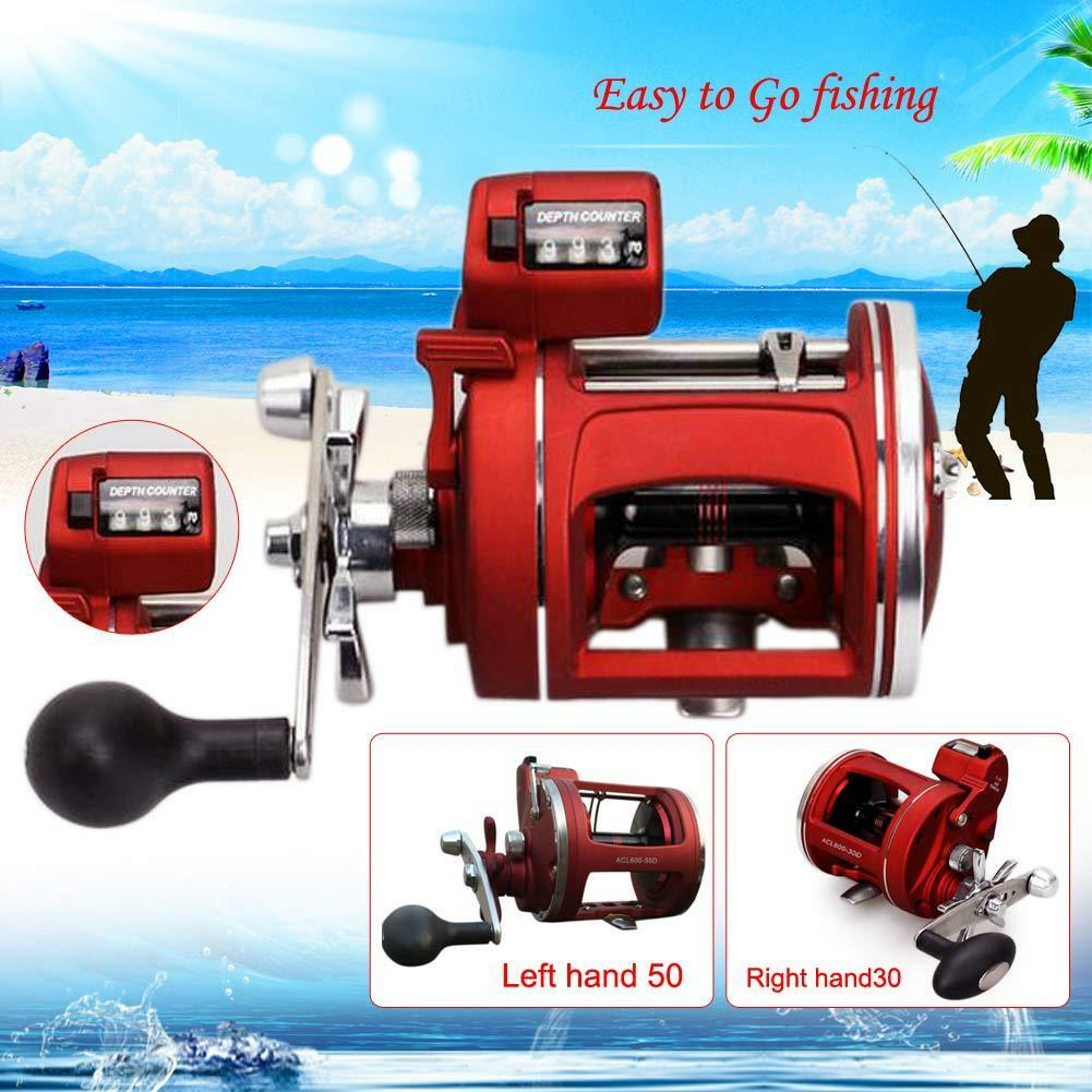 12BB Trolling Reel Saltwater Sea Fishing Conventional Reels Right Hand  Drum ACL  up to 65% off