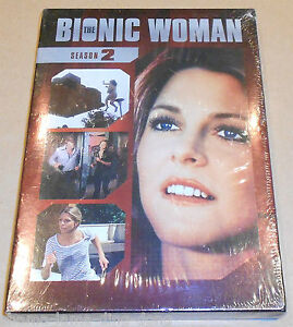 NEW-SEALED-The-Bionic-Woman-DVD-Box-Set-Complete-Second-Season