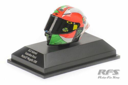 Valentino Rossi AGV Helm Helmet Moto GP Mugello 2018 1:8 Minichamps 399180086