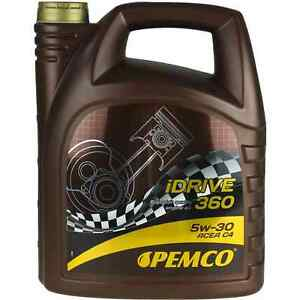5l-Pemco-iDrive-360-5w-30-aceite-del-motor-aceite-acea-c4-MB-226-51-229-51-rn-0720