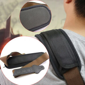 Guitar-Strap-Shoulder-Pad-Adjustable-Padded-Black-for-Acoustic-Electric-Guita-YK
