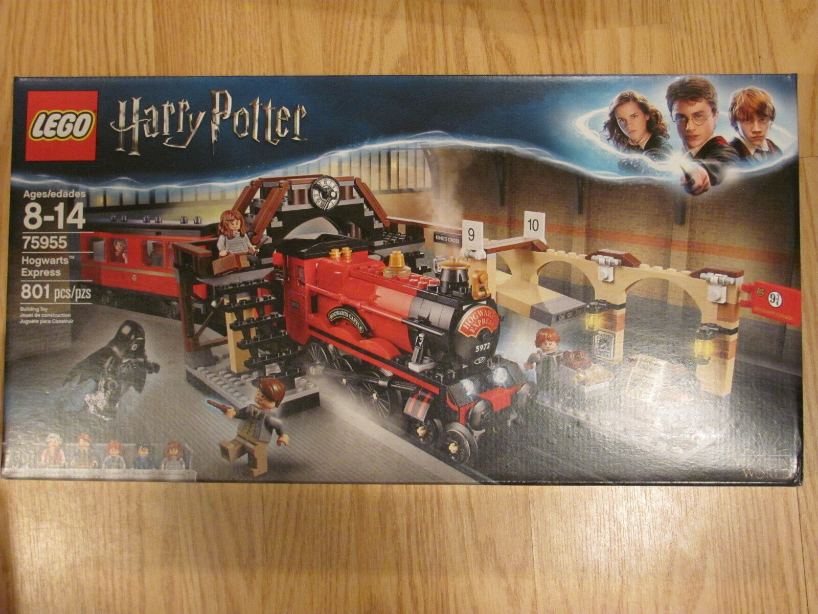 LEGO Harry Potter 75955 Hogwarts Express Train NEW / Sealed 801 Pieces