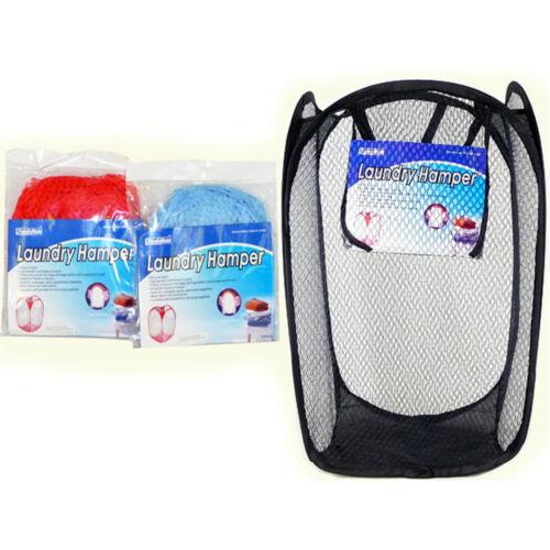 Buy 2 Get 1 Free Portable Laundry Bag Basket Pop Up Mesh Hamper Foldable AD-3504