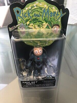 Funko Purge Suit Action Figure: Rick /& Morty Brand New In Box Morty