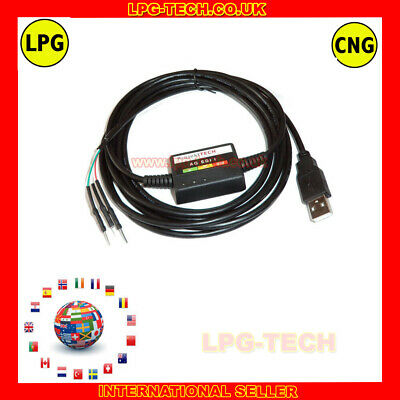 AG  Diagnostic Programming Cable Interface LPG AUTOGAS