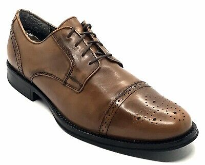 Chaps 96-28752 Brown Leather Wingtip