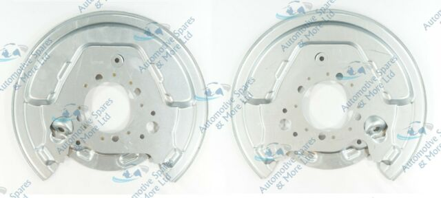 2x Brake Discs Solid fits TOYOTA AVENSIS ZZT251 1.8 Rear 03 to 08 1ZZ-FE Pair