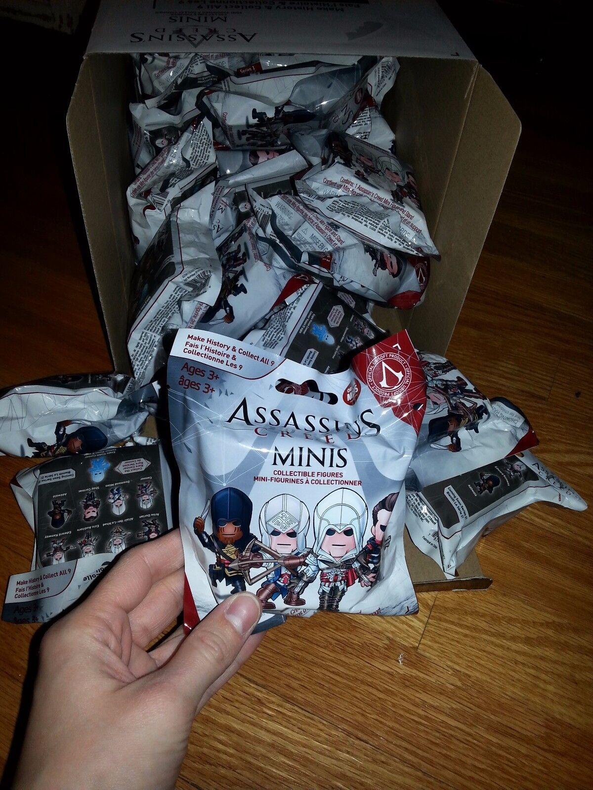EsES dogma de asesino mini bolsa de ciego colección serie 1 lote de juguetes serie 23