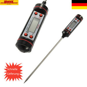 Einstichthermometer-Grill-Thermometer-Bratenthermometer-Fleischthermometer-KuecHb