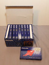 Audiokassetten:Philips  CD One 90 10 Stück,in Schachtel,Neu,New,sealed in boxed