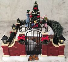 "Department 56 Dickens Village ""VICTORIAN CHRISTMAS SCENE"" Animated #58588"