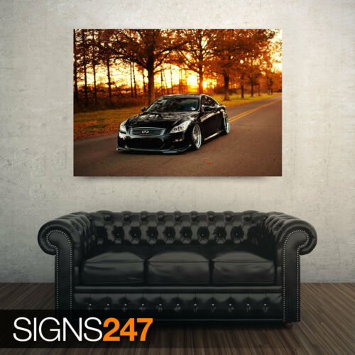 AA237 Photo Picture Poster Print Art A0 A1 A2 A3 A4 INFINITI G37 CAR POSTER