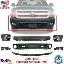 Front Bumper Primed Cover Valance Kit For 2007 2013 Chevy Silverado 1500 Fits 2013 Silverado 1500