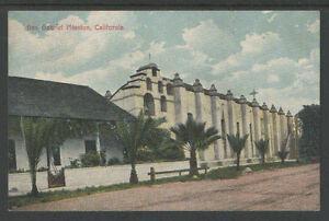 1910s-SAN-GABRIEL-MISSION-CALIFORNIA-POSTCARD