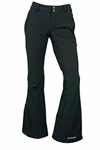 Columbia Squaw Ascent Softshell Negro Esquí Nieve Pantalones Talla 4 Venta  120