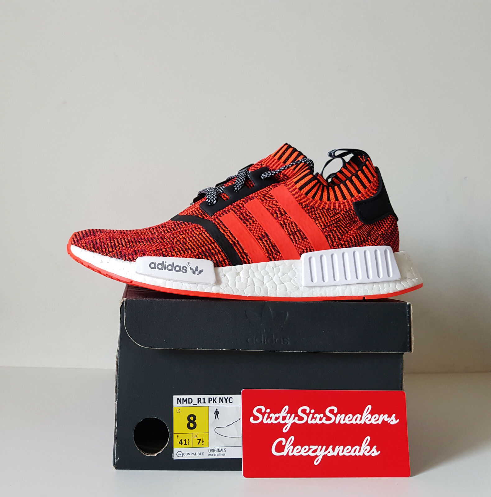 Adidas NMD Red Apple NYC 56/200 8US 7,5/3EU New DS