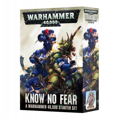 WARHAMMER 40,000  ~  KNOW NO FEAR  ~  STARTER SET  ~  NEW