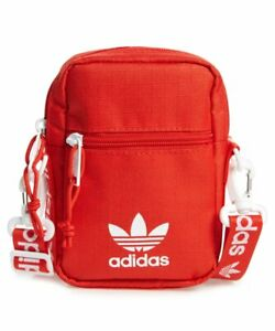 e3a69fdf5 adidas Originals Festival Crossbody Bag Red One Size Mini Travel Bag ...
