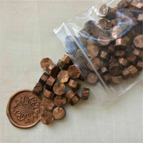 100pcs Pearl White Wseal stamp wax Vintage Wax Seal Stamp Tablet Pill Beads for
