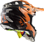 LS2 MX470 SUBVERTER EMPEROR ORANGE OFF ROAD  MOTOCROSS MOTORCYCLE QUAD HELMET