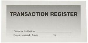 2019-21 Calendar Check Book Bank Checkbook Transaction Registers 10