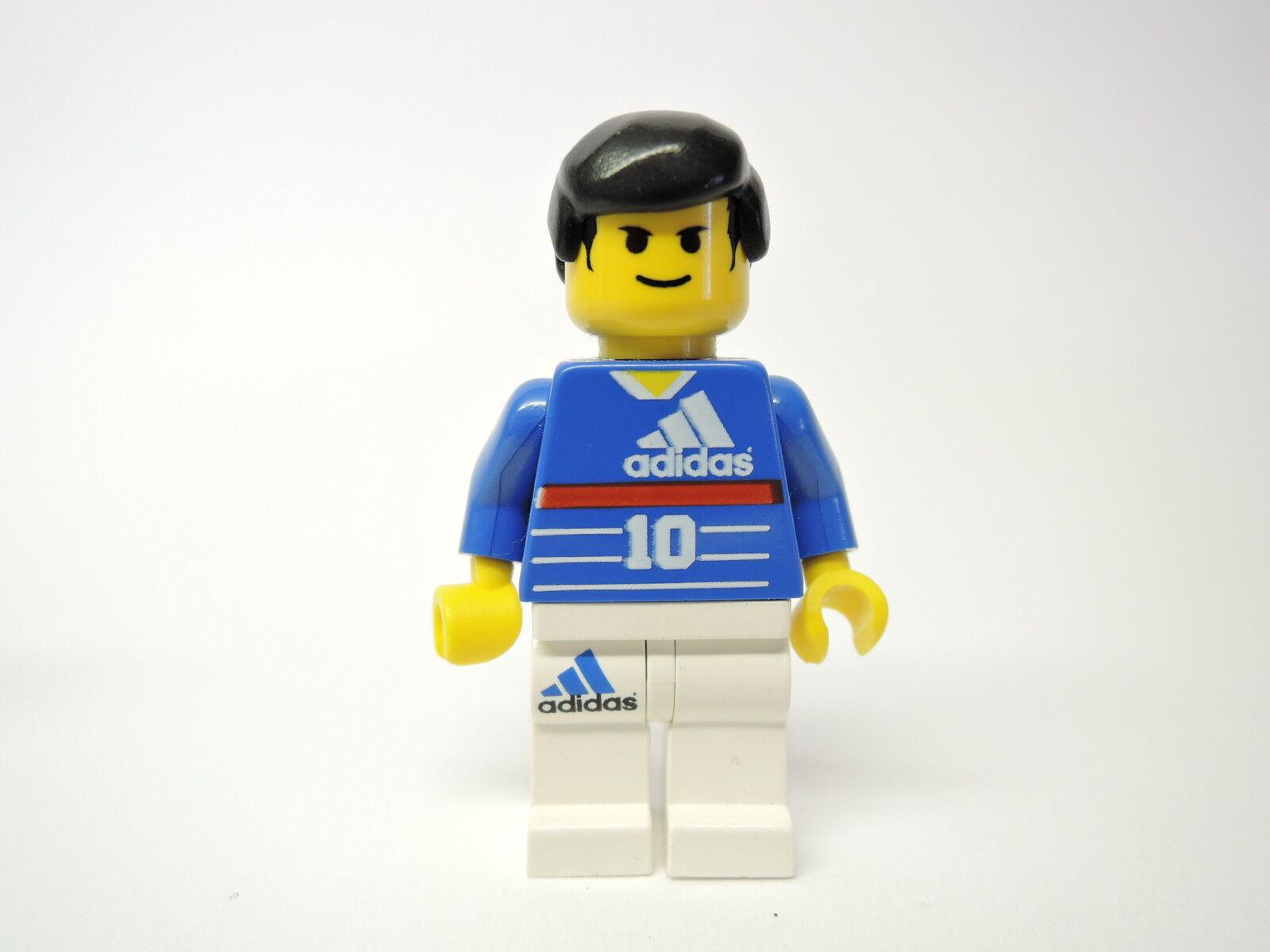 LEGO personnage sport footballeur Zinedine Zidane Zidane Zidane soc044 set 3401 | Emballage élégant Et Robuste  30791b