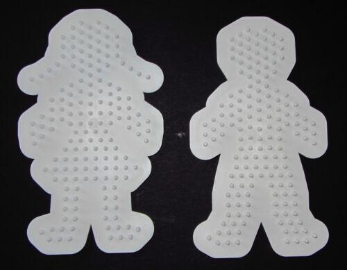 Bügelperlen Midi Steckplatten Stiftplatten Blume Ei Tiere Dino Stern Fee usw.