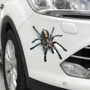 3D-Spider-Decal-crawling-car-Vehicle-Truck-SUV-window-vinyl-Hood-sticker-graphic