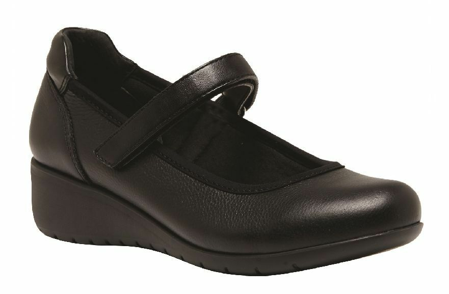 damen HUSH PUPPIES ADULTS ADULTS ADULTS - DURAN schwarz WALKING LEATHER schuhe 5129d5