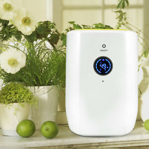 Details about Electric Mini Air Dehumidifier For Home With Smart LCD  Display 22W Green Yellow